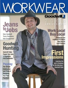 Work Wear Annual Report Goodwill Akron